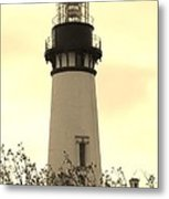 Lighthouse Tranquility Metal Print