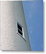 Lighthouse Window Metal Print