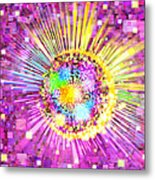 Lighting Effects And Graphic Design Metal Print by Setsiri Silapasuwanchai