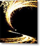 Lighting Explosion Metal Print