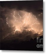 Lightning Metal Print