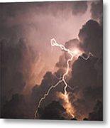 Lightning Man Metal Print