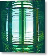 Lightouse Lantern At Portland Lighthouse Metal Print