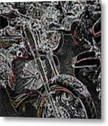 Lights Out 2 Metal Print