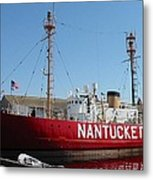 Lightship Nantucket Metal Print