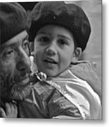 Like Father Like Son Metal Print