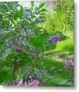 Lilac In The Air Metal Print