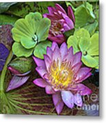 Lilies No. 28 Metal Print by Anne Klar