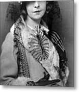 Lillian Gish 1922 Metal Print