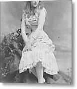 Lillian Russell 1882 Metal Print
