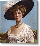 Lillian Russell On Cover Metal Print