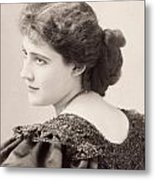 Lily Hanbury (1874-1908) Metal Print