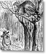 Lincoln Cartoon, 1862 Metal Print by Granger