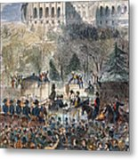 Lincoln Inauguration Metal Print