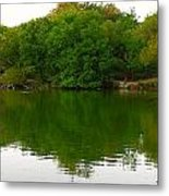 Lincoln Park North Pond In Chicago Metal Print