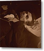 Lincoln Shot Metal Print
