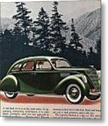 Lincoln Zephyr 1936 Metal Print