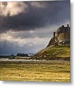 Lindisfarne Castle, Beblowe Crag Metal Print