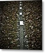 Line Of Death Metal Print