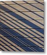 Lines Of Summer Metal Print