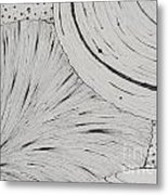 Lines Stripes And Spots Oh My Metal Print