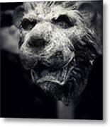 Lions Head 2 Metal Print