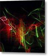 Liquid Saphire 2 Metal Print by Cyryn Fyrcyd
