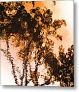 Liquid Tree Metal Print