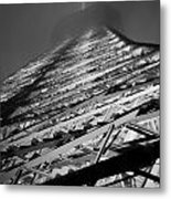 Lit And Looming Metal Print