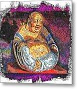 Little Buddha - 2 Metal Print