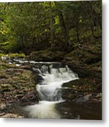 Little Carp River Falls 3 Metal Print