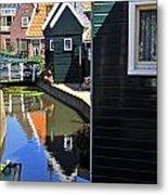 Little Dutch Houses Metal Print