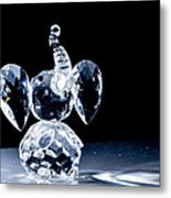 Little Elephant In The Spotlight Metal Print