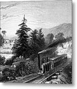 Little Falls: Railroad Metal Print