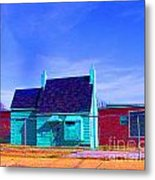 Little Green Relic Metal Print