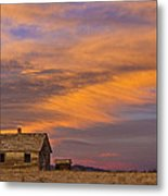 Little House On The Colorado Prairie 2 Metal Print by James BO  Insogna