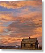 Little House On The Colorado Prairie Metal Print