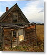 Little House On The Prarie Metal Print