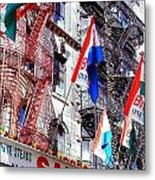Little Italy In Color Metal Print