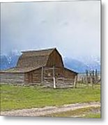 Little Mountain Barn Metal Print