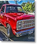 Little Red Express Hdr Metal Print