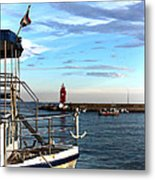 Little Red Lighthouse Metal Print