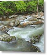 Little River Rapids Metal Print