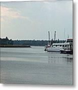 Little River Scenic Iv Metal Print by Suzanne Gaff