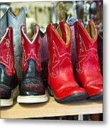 Little Tykes Cowboy Boots Metal Print