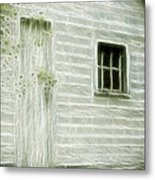 Little White Building Onaping Metal Print