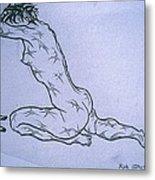 Live Nude Female No. 51 Metal Print