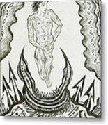 Live Nude Male No. 27 Metal Print