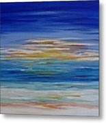 Lively Seascape Metal Print