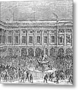 Liverpool Exchange, 1854 Metal Print